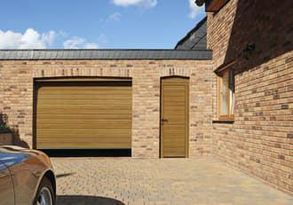 Garagen-Nebentür Holz