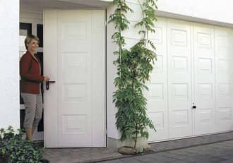 Praktische Garagen-Nebentür